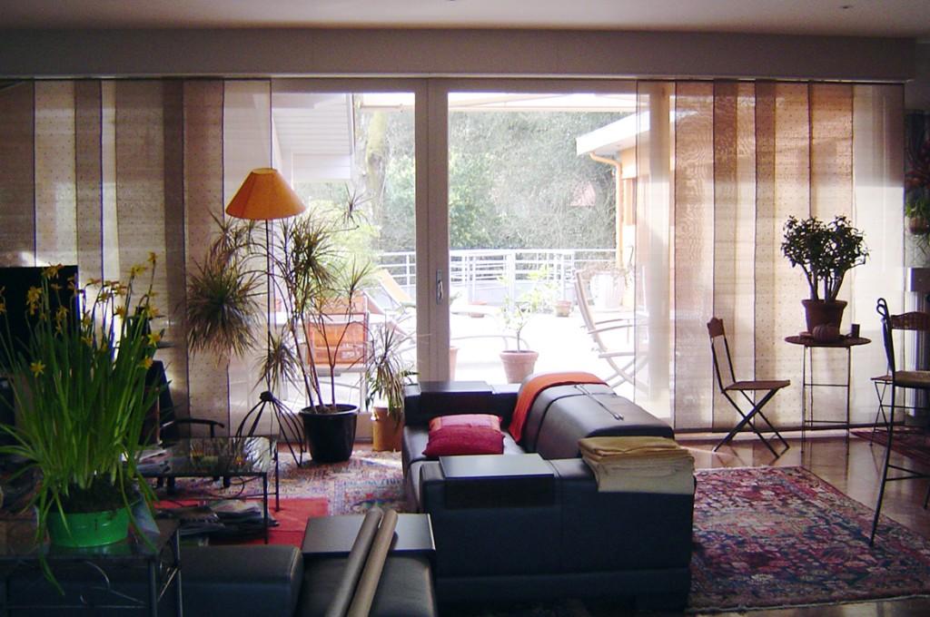 panneaux japonais la maison de b n dicte d coration int rieure conseils projets de. Black Bedroom Furniture Sets. Home Design Ideas