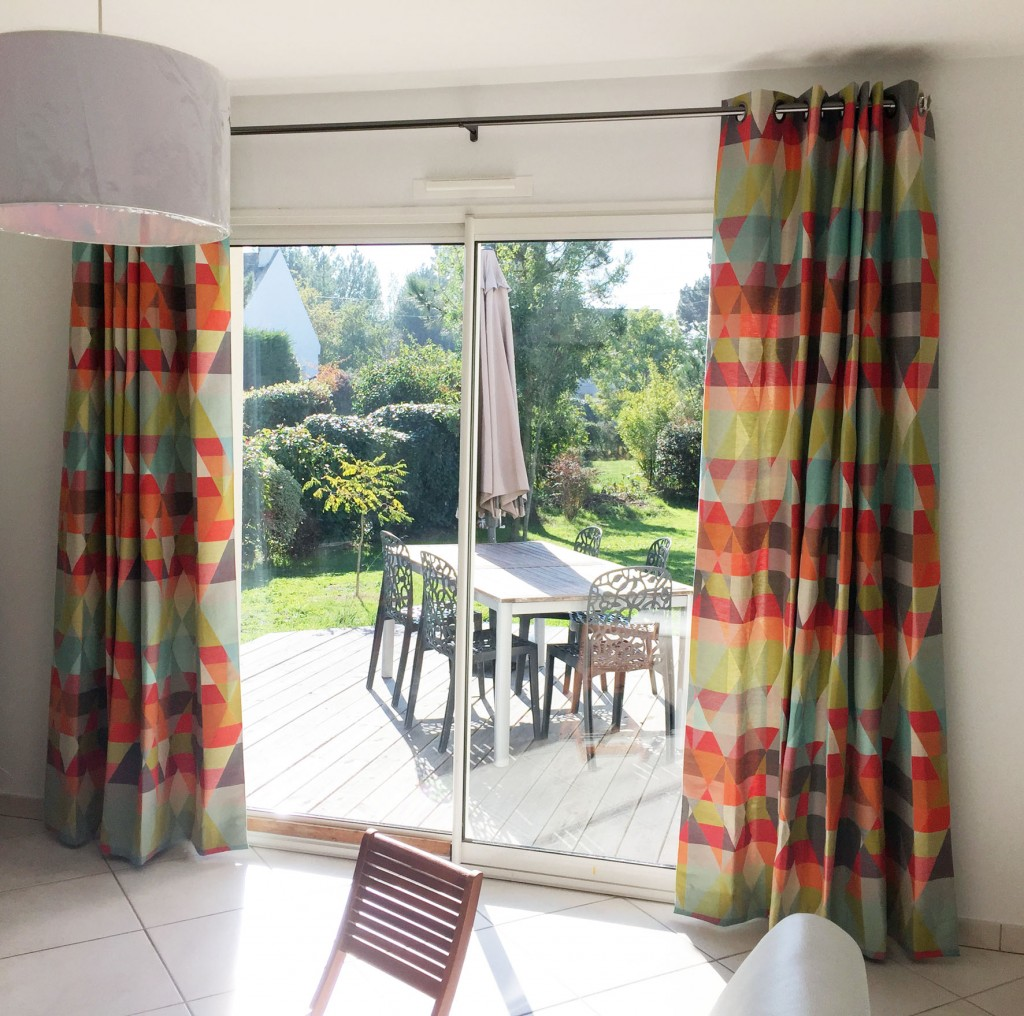 rideaux voilages la maison de b n dicte d coration. Black Bedroom Furniture Sets. Home Design Ideas