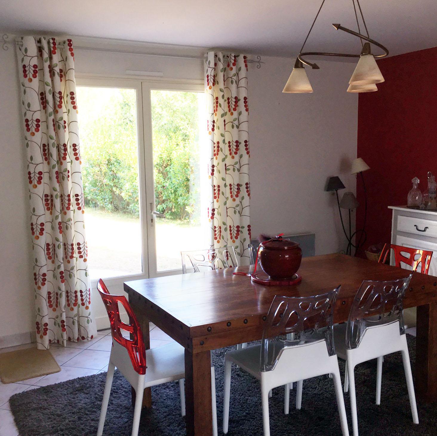 la maison du rideaux beautiful pcs vert saule sheer. Black Bedroom Furniture Sets. Home Design Ideas